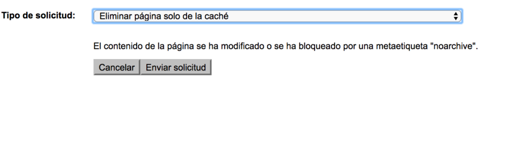 2 eliminar pagina de cache