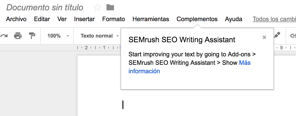 Instalar el SEO Writing Assistant