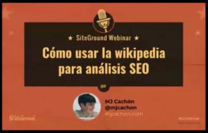 seo wikipedia siteground