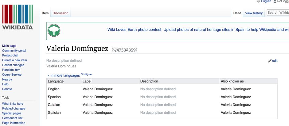 wikidata propio