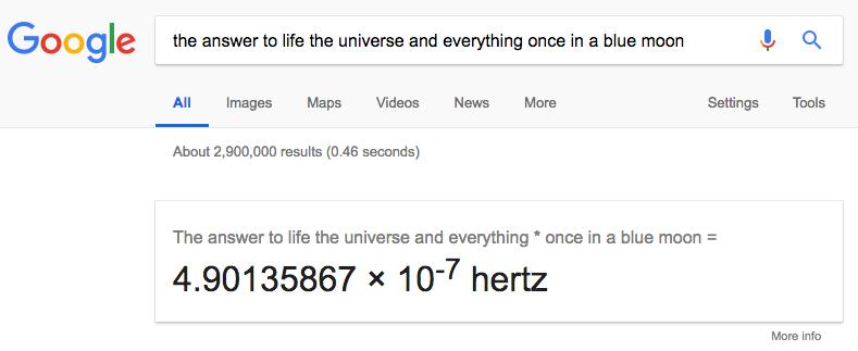 Trucos de Google: Cálculos