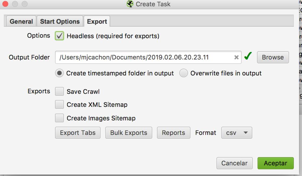 export sf